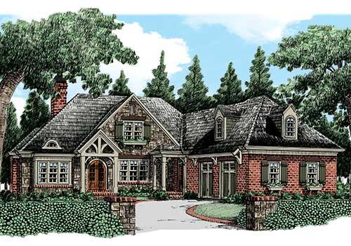 Chestatee House Plan Elevation