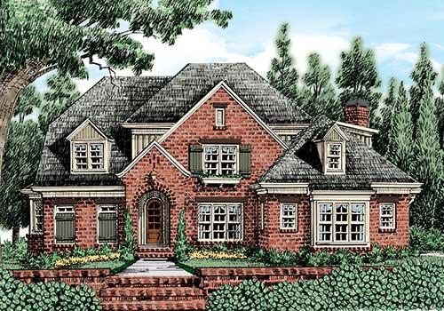 Lynden Manor House Plan