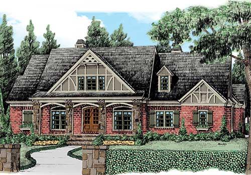 Meyerswood House Plan Elevation