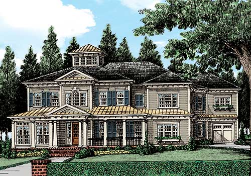 Rivard House Plan