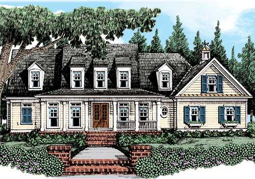 Tavistock House Plan