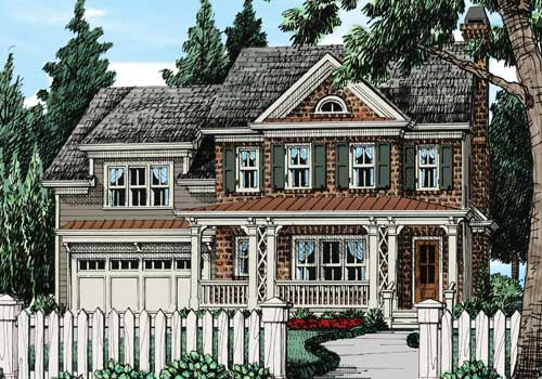 Bullard House Plan