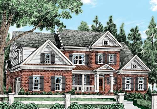 Appleton Chase (a) House Plan