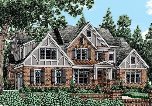 Appleton Chase (c) House Plan