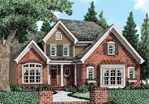 Asbury Park (c) House Plan Elevation