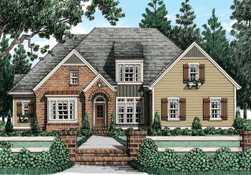 Avondale Park (b) House Plan Elevation