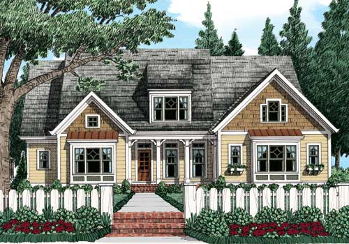 Avondale Park (c) House Plan Elevation