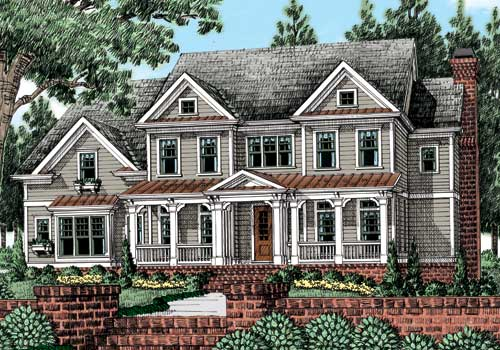 Deerwood (a) House Plan