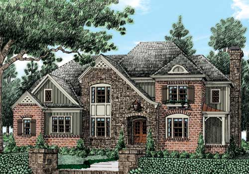 Deerwood (c) House Plan