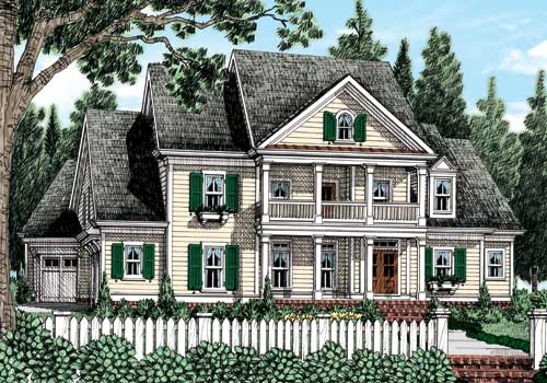 Haines Crossing (a) House Plan Elevation