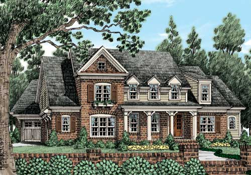 Haines Crossing (b) House Plan Elevation