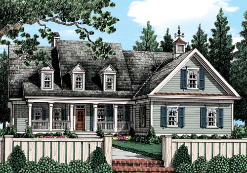Ivy Jeane Cottage (a) House Plan