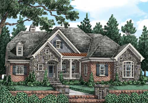 Ivy Jeane Cottage (c) House Plan