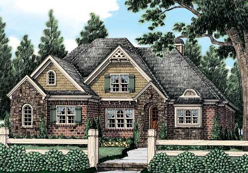 Mackinaw (b) House Plan