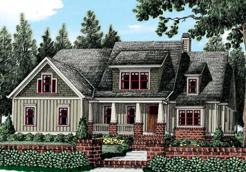 Mackinaw (c) House Plan