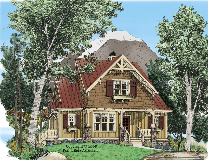 Wind River House Plan Elevation