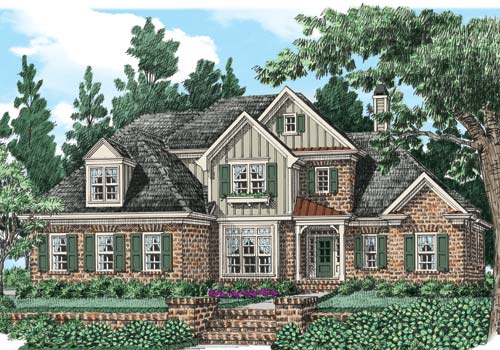 Drewery Manor House Plan