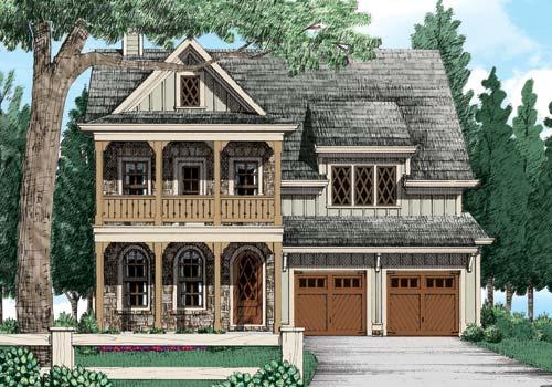 Riverton Mill House Plan