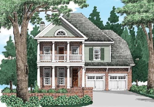 Lowell Springs House Plan Elevation