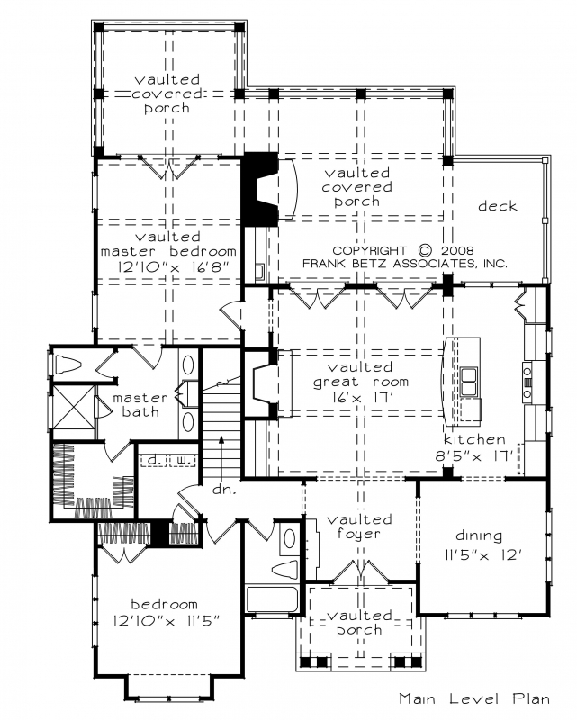 Allegheny House Plan