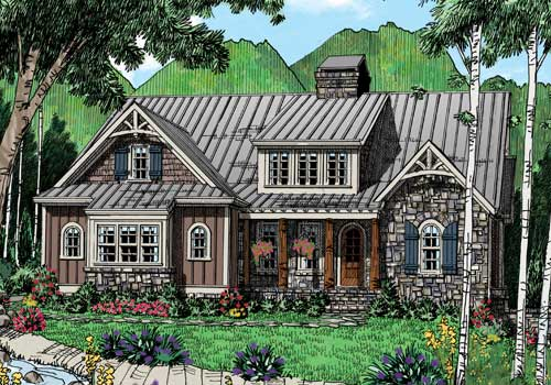 Owl Creek House Plan Elevation