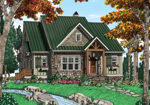 Ozark House Plan