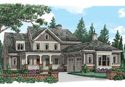 Cedar Shoals House Plan Elevation