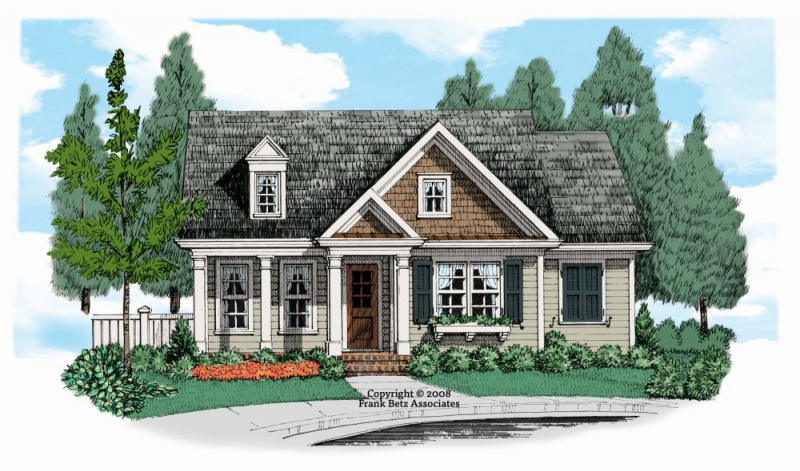 Cherokee Rose House Plan