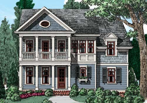 Nandina House Plan Elevation