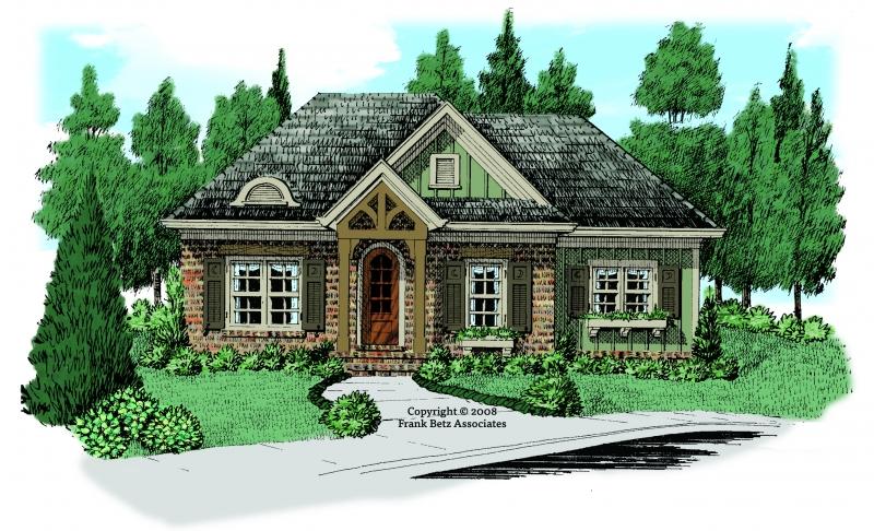 White Oak House Plan Elevation