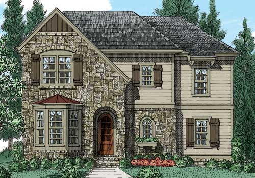 Wysteria House Plan Elevation