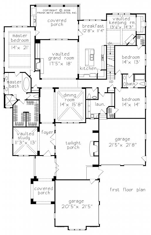 Falkirk Ridge House Plan