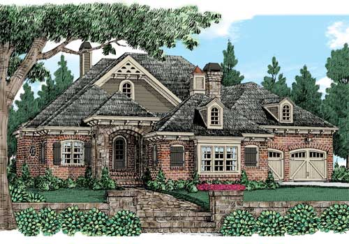 Falkirk Ridge House Plan Elevation