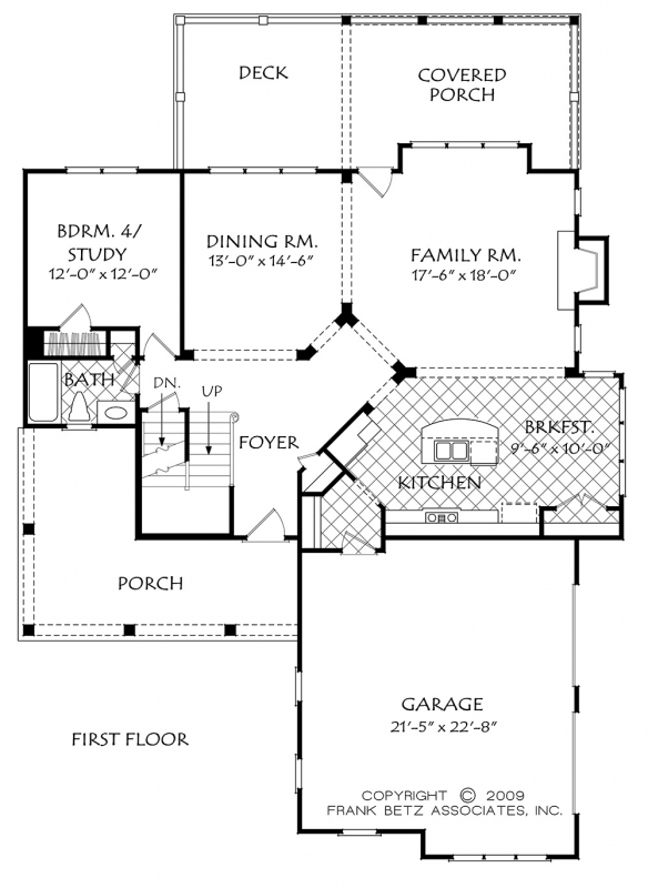 Buffington House Plan