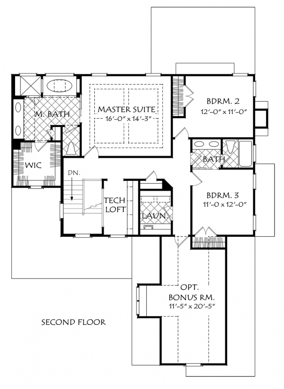 Buffington House Plan