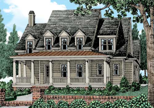Morgan Falls House Plan Elevation