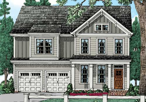 Oak Grove House Plan Elevation