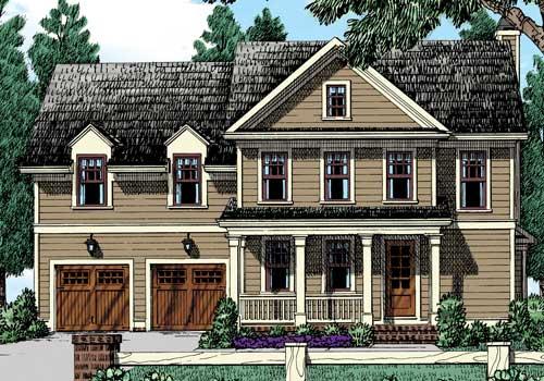 Kandon Place House Plan Elevation