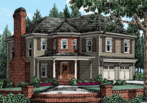 Burnt Hickory House Plan