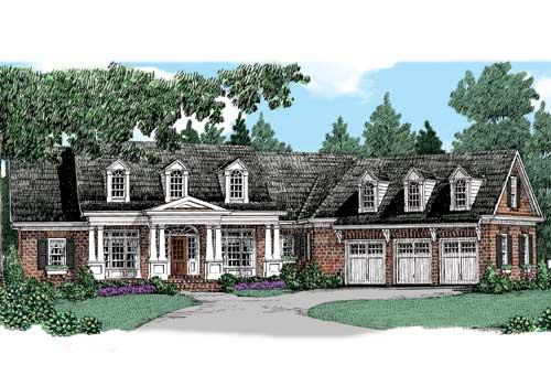 Liberty Ridge House Plan Elevation
