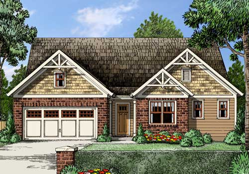 Harcourt House Plan