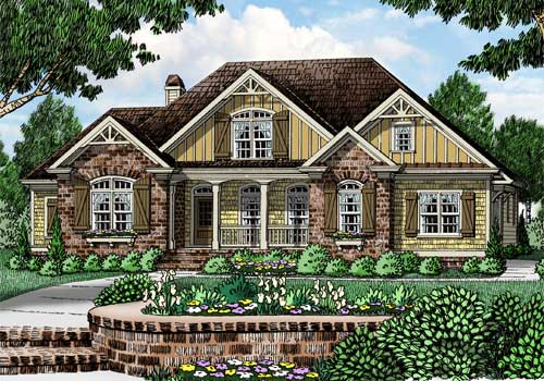 Pine Meadow House Plan Elevation