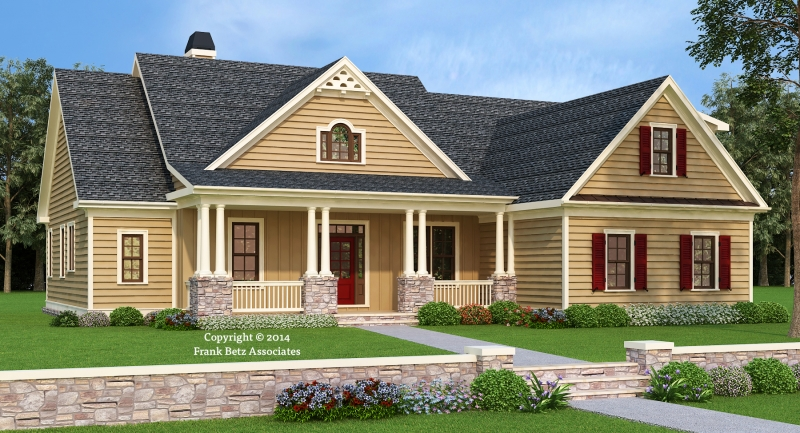 Brandeis House Plan