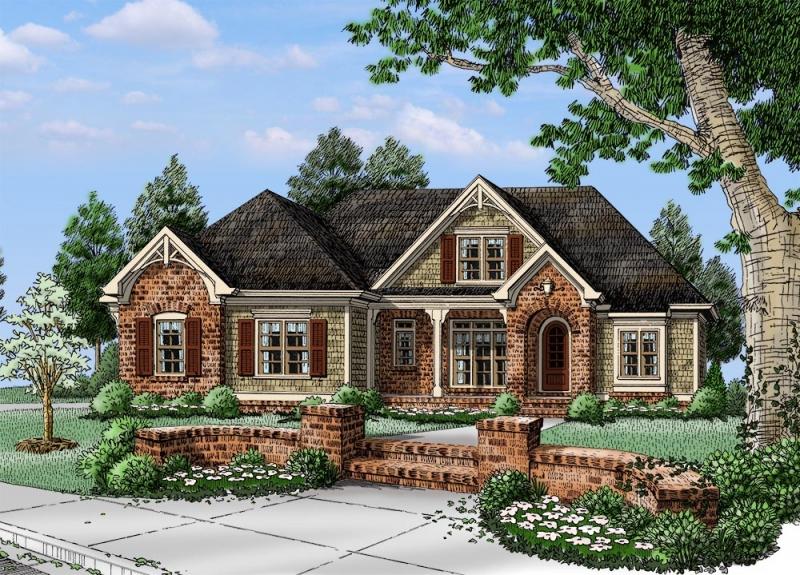 Sierra Valley House Plan Photo