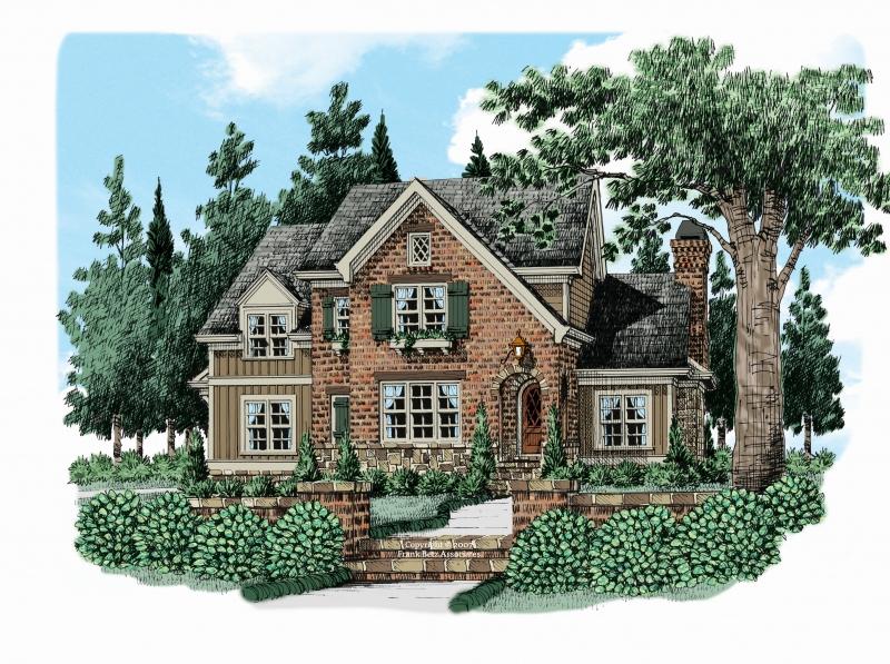 Barnsley Mill (c) House Plan