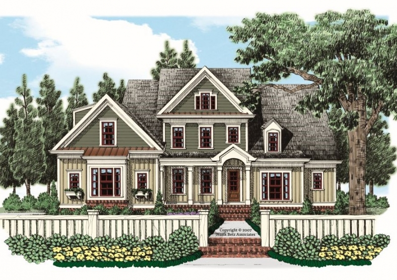 Romney (a) House Plan Elevation