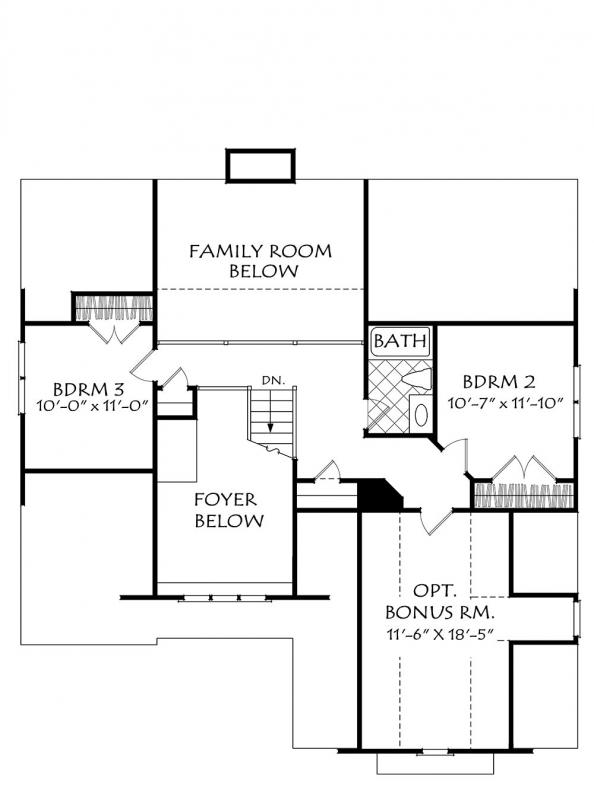 Heydon Hall (b) House Plan