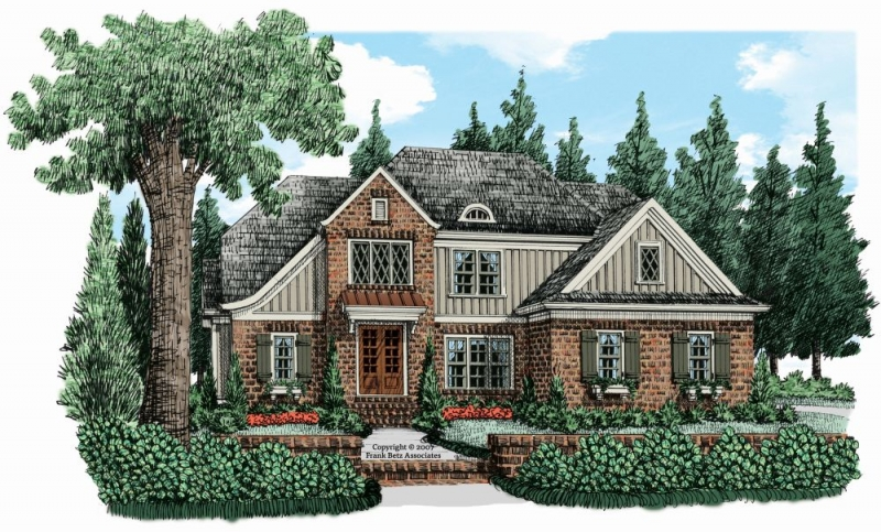 Shoal Creek (c) House Plan Elevation
