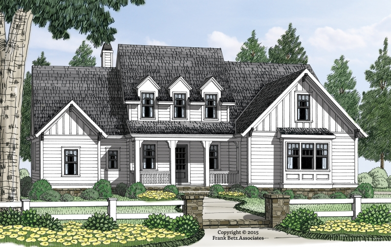 Cabot House Plan Elevation