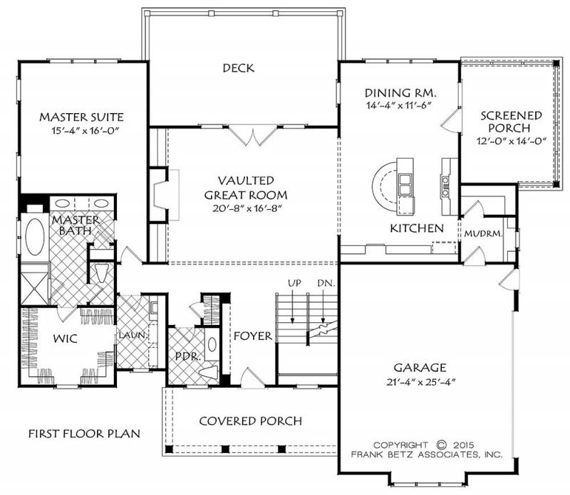 Cabot House Plan